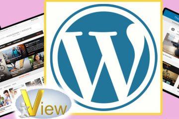 تصميم موقع ووردبريس أصبح الأفضل ورقم 1